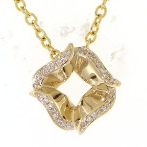 Solid Diamond Pendant Anniversary Gift Yellow Gold